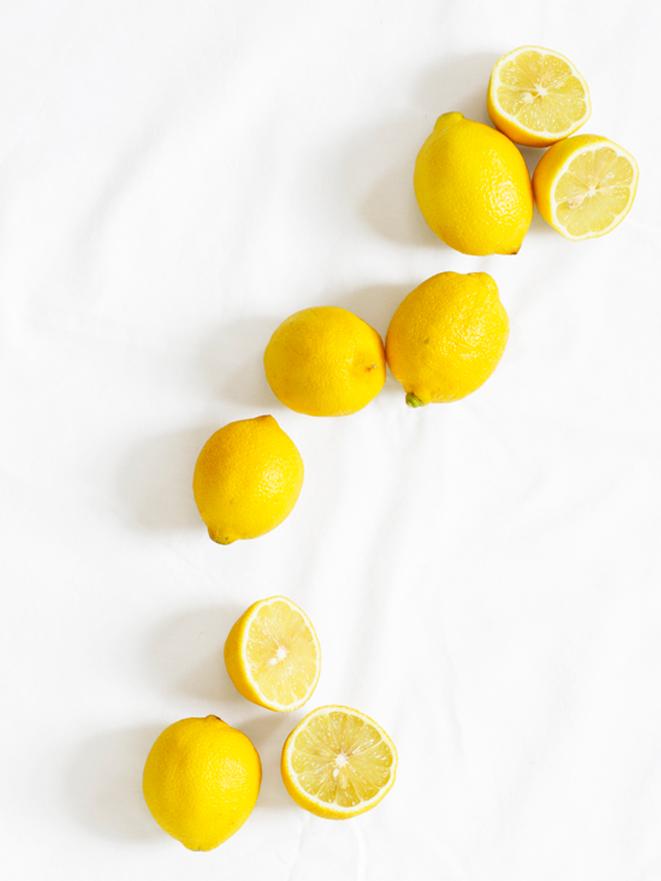 make your own cleansing lemon scrub