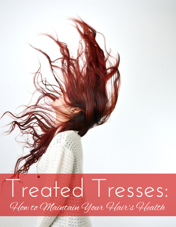 Color treated hair