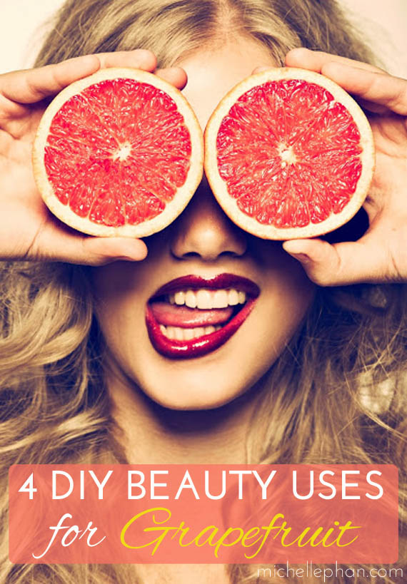 Beauty Uses for Grapefruit