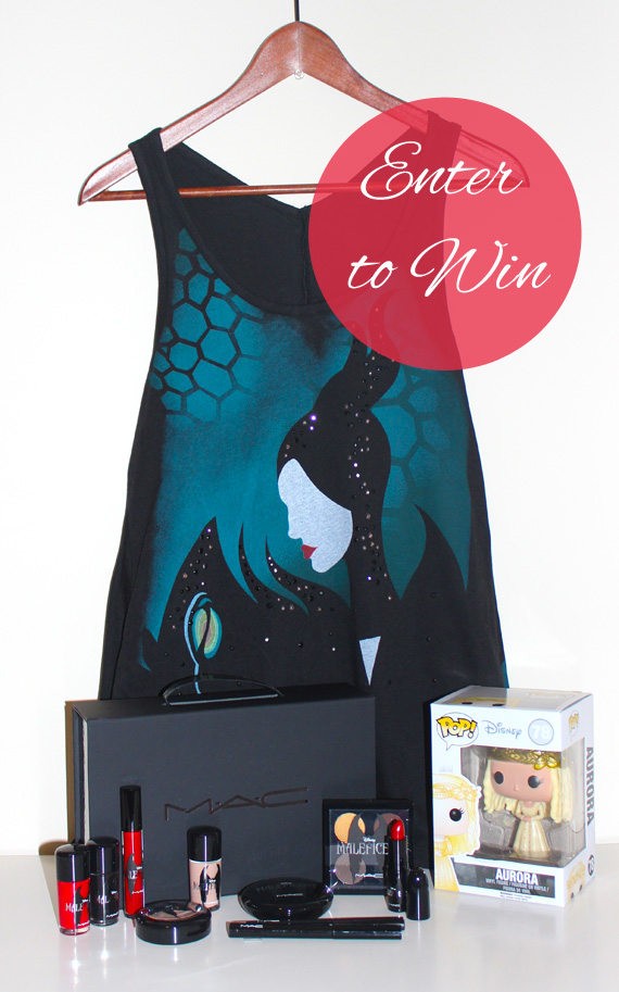 Maleficent Giveaway Prizes
