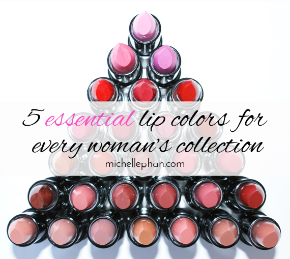 Lip colors every woman should own