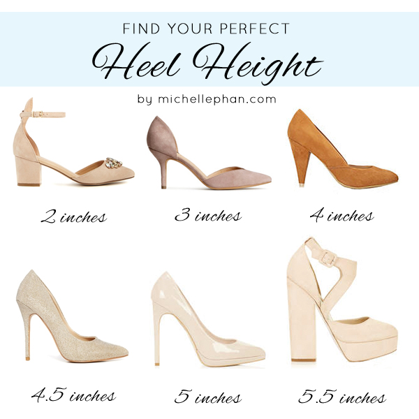 How To Measure Heel Height Women S Shoes