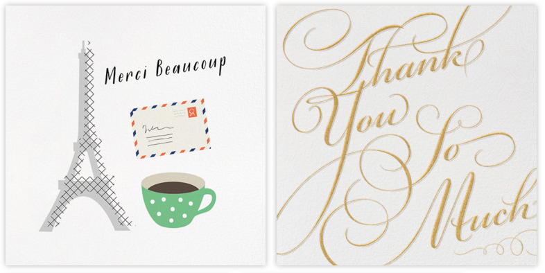 5 Favorites: Ways to Say Thank You