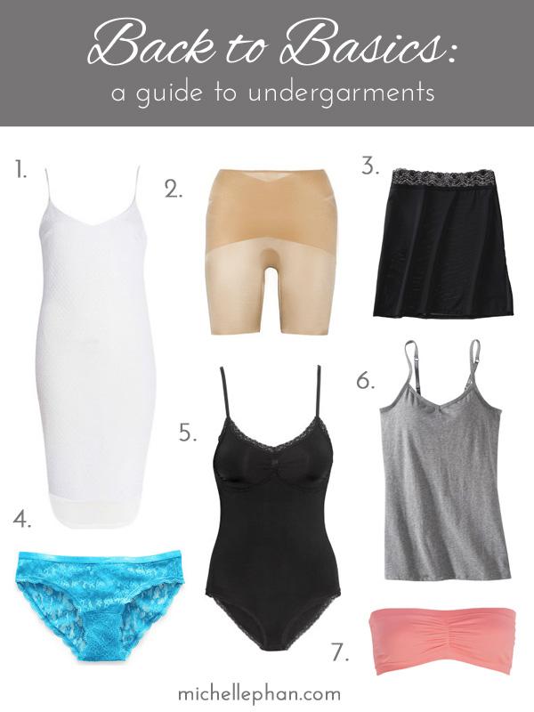 Back To Basics Undergarment Guide Michelle Phan Michelle Phan