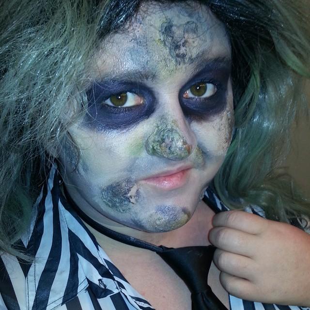 Beetlejuice Halloween Costume