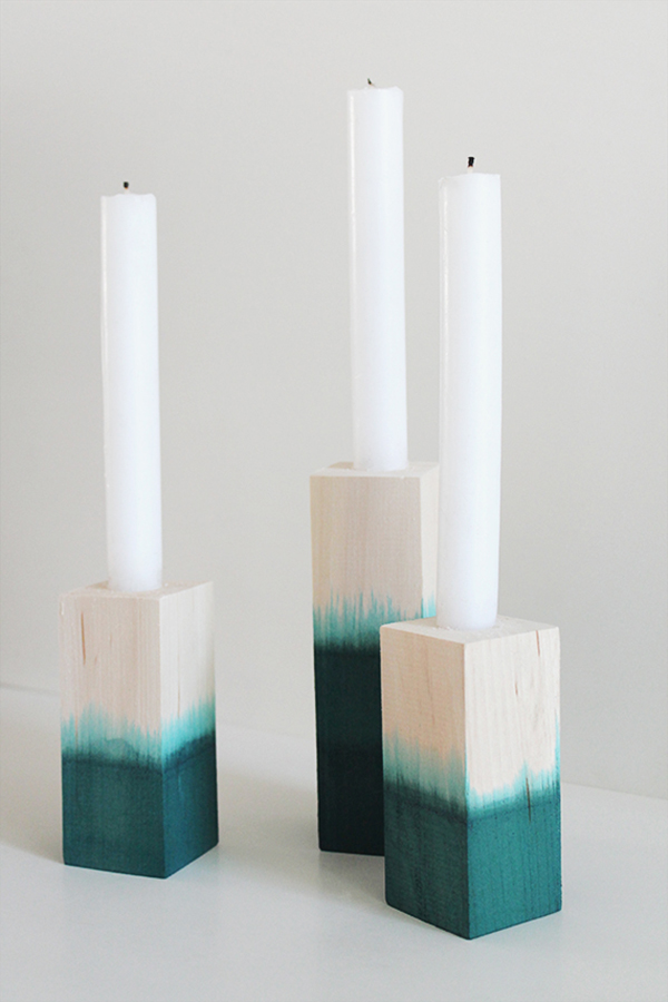 DIP Dyed Candle Sticks Almost Makes Perfect
