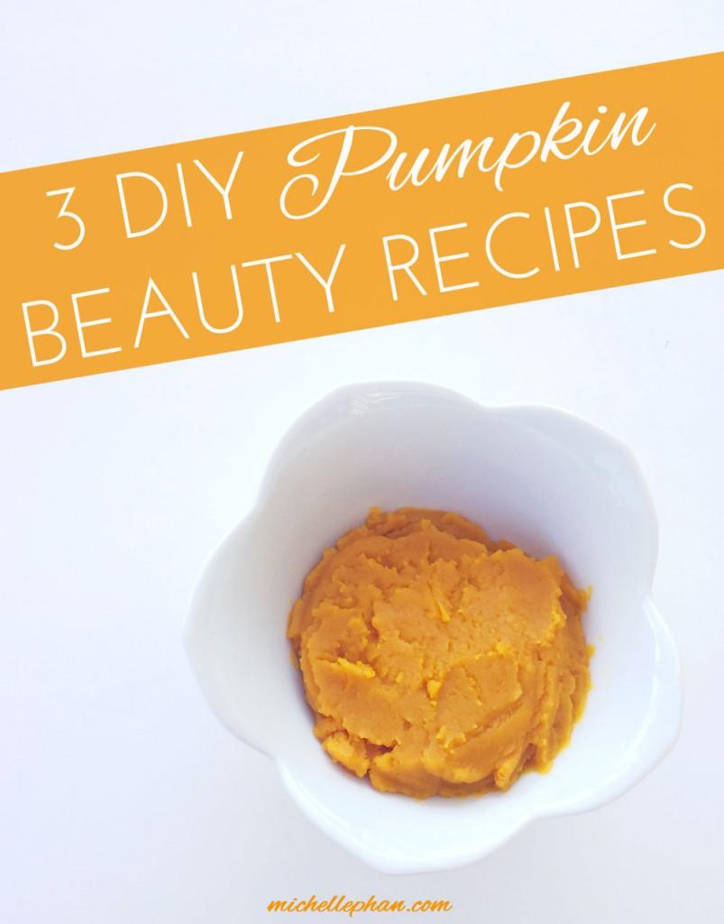DIY Pumpkin Beauty Recipes