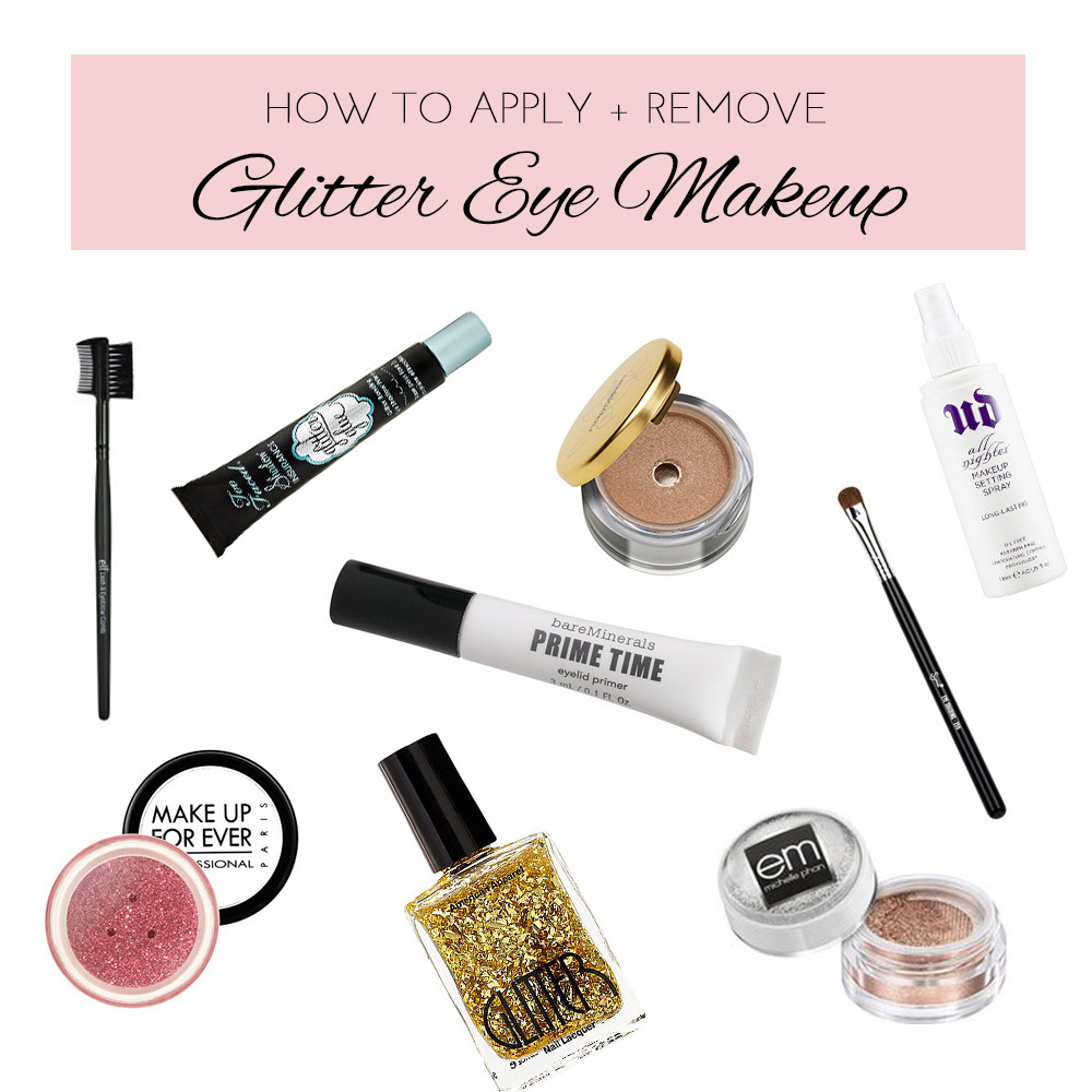 Glitter Eye Makeup Tips Michelle Phan Michelle Phan