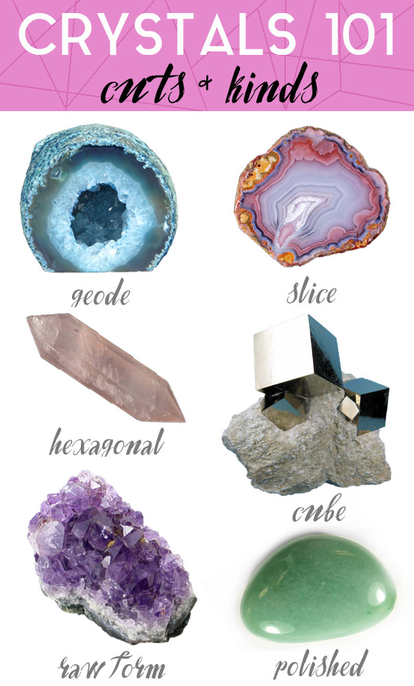 Crystals 101: Cuts & Kinds - Michelle Phan – Michelle Phan