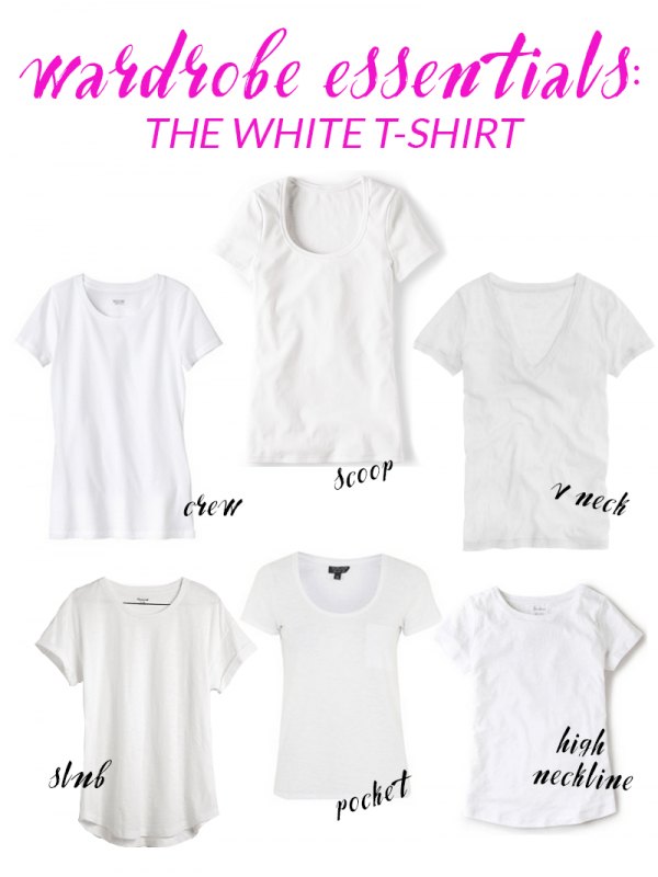 how to style a white t-shirt