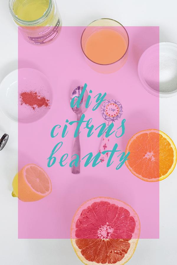 DIY Citrus Beauty