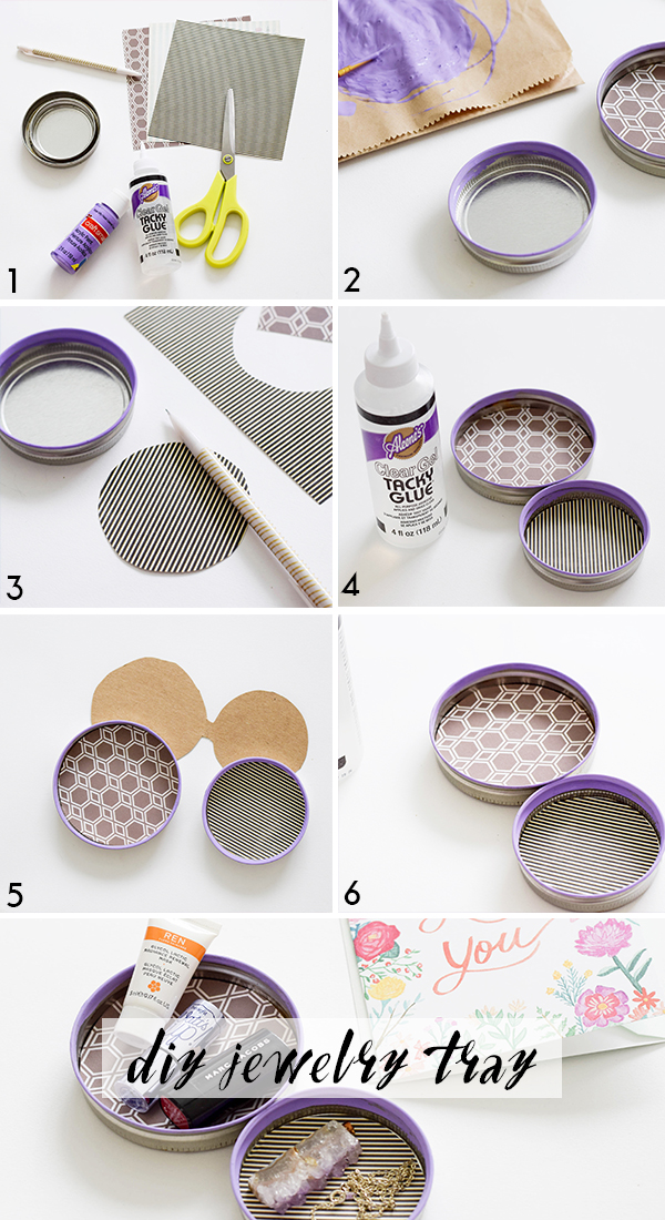 DIY Small Jewelry Trays | MichellePhan.com