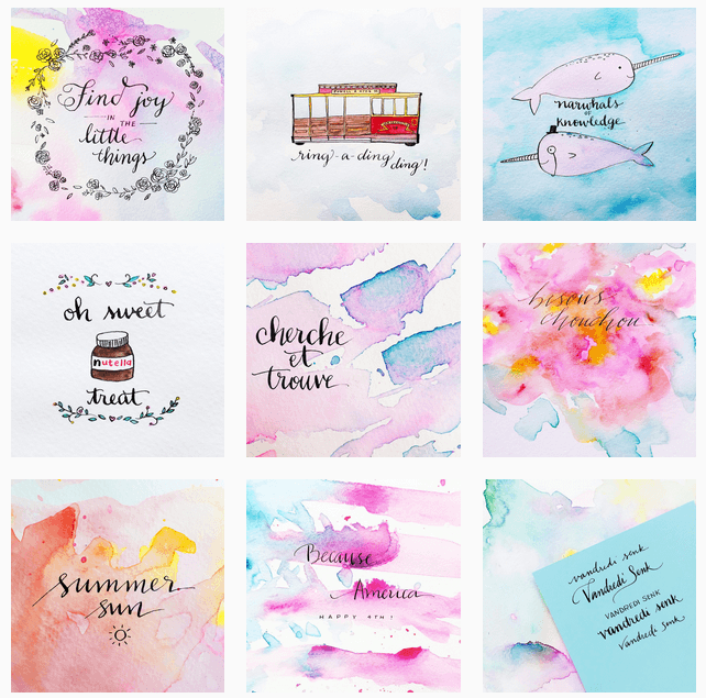 #The100DayProject Favorite Artists | MichellePhan.com