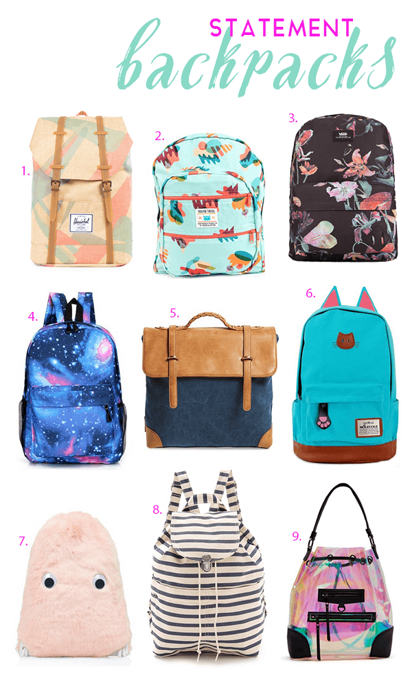 Back to School Statement Backpacks - Michelle Phan – Michelle Phan