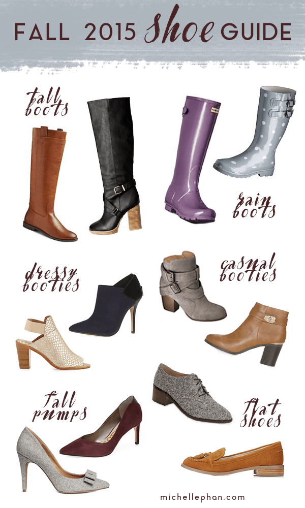 fall shoe & boot guide 2015