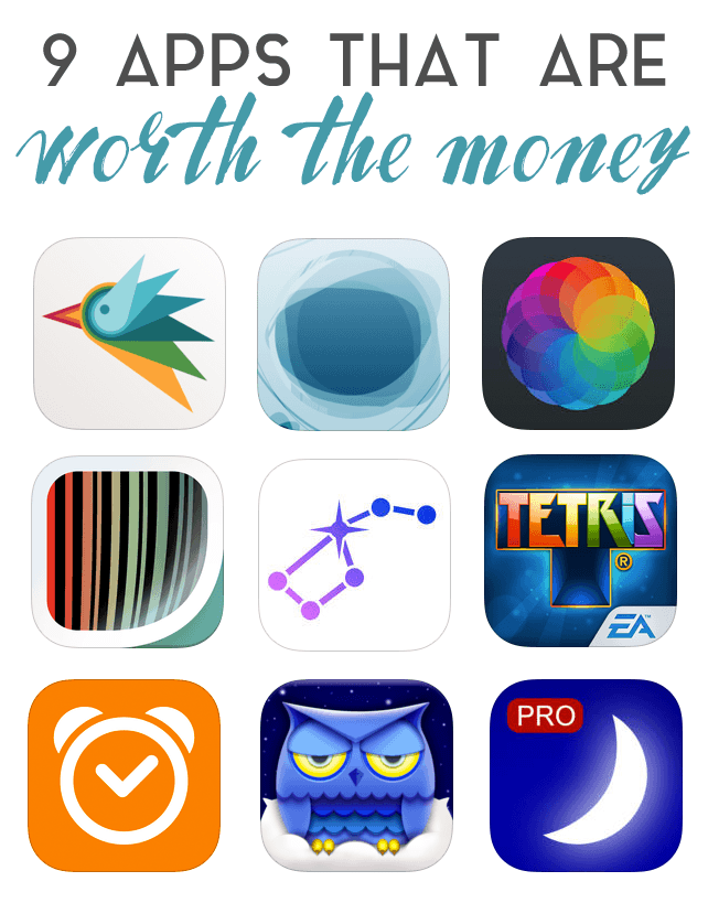 Apps worth the money