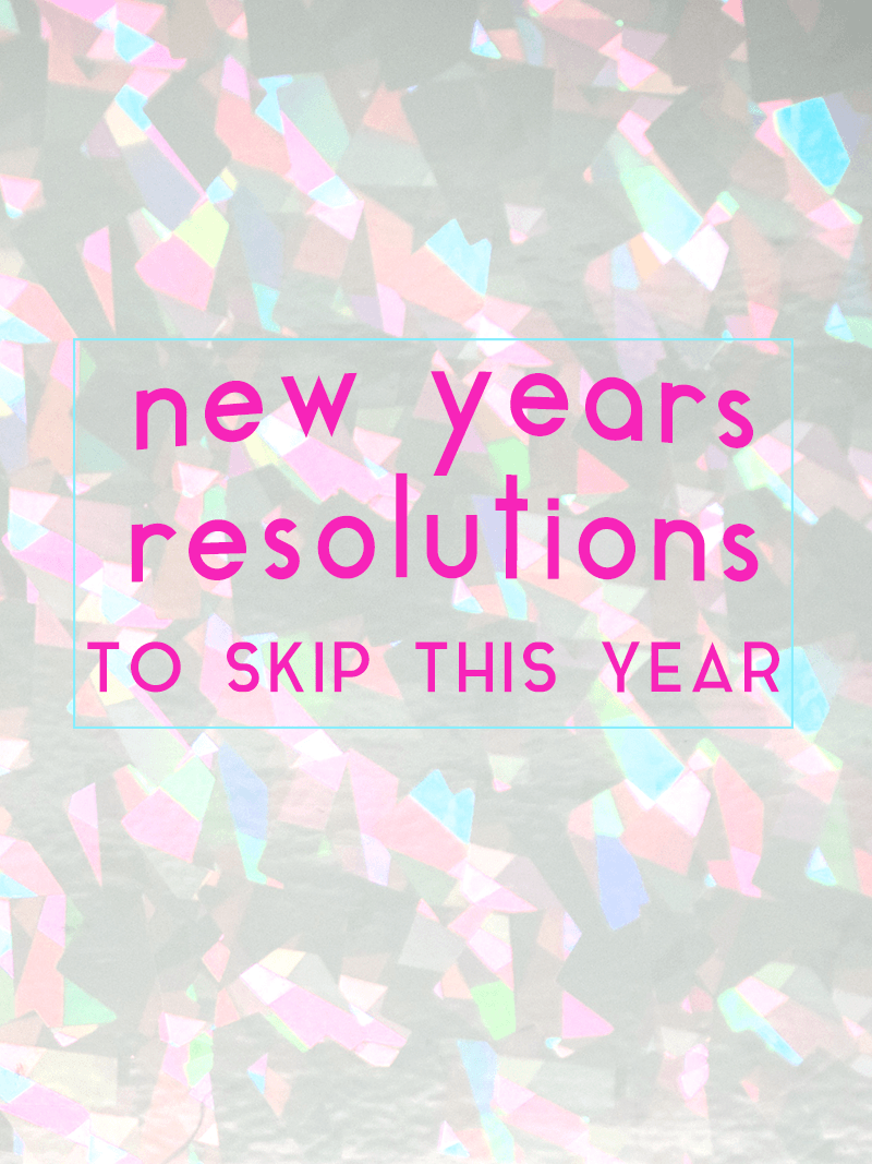 5 New years Resolutions to Skip This Year \u2013 Michelle Phan