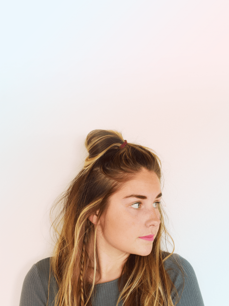 5 Hair Trends To Get Behind Before Summer - The Half Bun via Michelle Phan