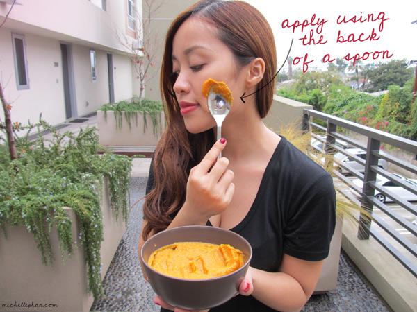 Kết quả hình ảnh cho pumpkin face mask