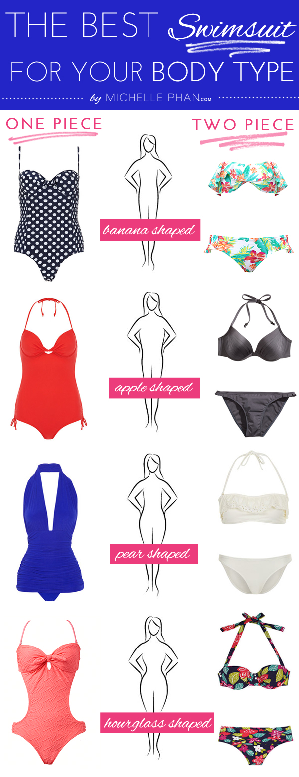 cdfa377bad1cd The Best Swimsuit for Your Body Type - Michelle Phan – Michelle Phan