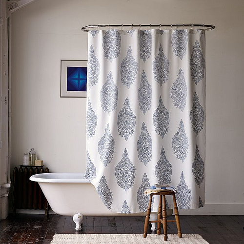 Curtains Ideas cloth shower curtain : Shower Curtains Cloth - Curtains Design Gallery