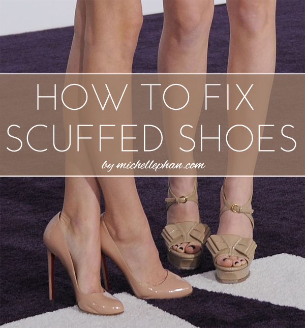 tip how to fix scuffed shoes phan