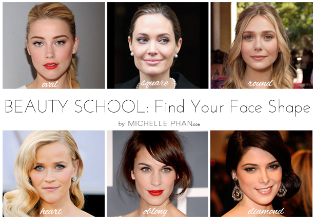 Beauty School Finding Your Face Shape Michelle Phan Michelle Phan