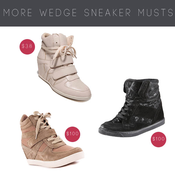c5e665ad75545 Must vs. Lust: Wedge Sneakers - Michelle Phan – Michelle Phan